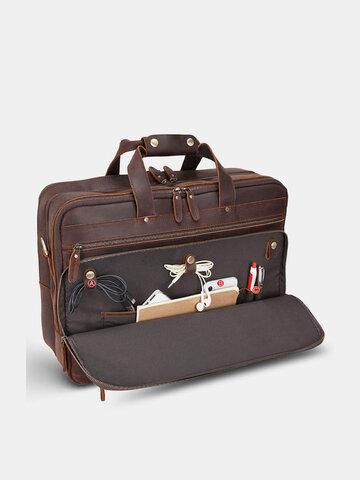 मल्टीफ़ंक्शन 14 इंच लैपटॉप बैग ब्रीफ़केस