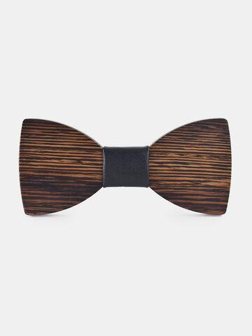 Cravate en bois pour homme
