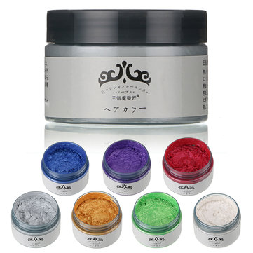 Unisex DIY Hair Color Wax 6 Colors