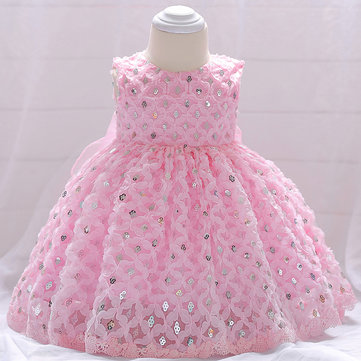 Sequined Girls Party Kleid Für 0-18M