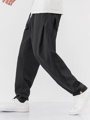 100% Cotton Breathable Sport Jogger Pants