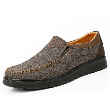 Большие размеры Мужчины Старый Пекин Стиль Повседневная обувь
