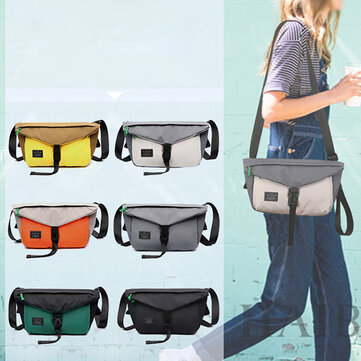 Canvas Casual Waist Bag Crossbody Bag For Men Women