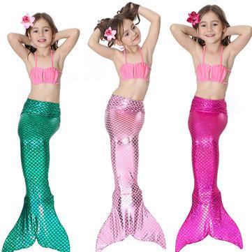 Costume da bagno con coda di sirena