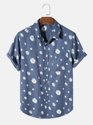 قميص بنمط ديزي بالكامل