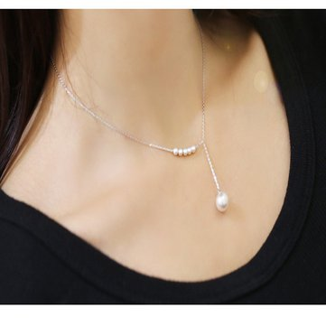 Fashion Pearls Pendant Necklace