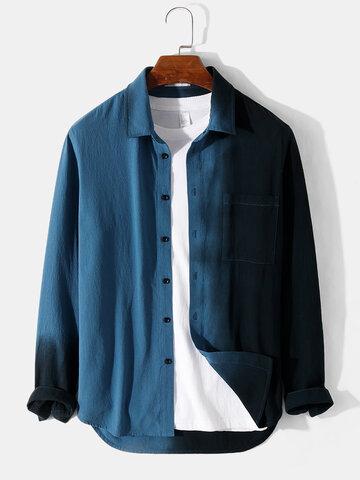 Contrast 100% Cotton Shirts