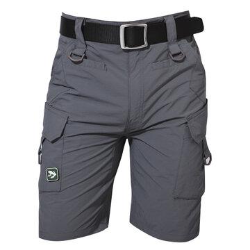 Calções desportivo Outdoor Secagem rápida TAD Tactical Multi-Bolsos para homens