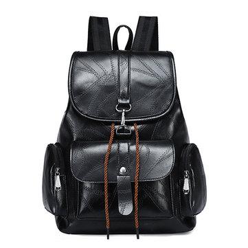 Женское Повседневный рюкзак из натуральной кожи Сумка