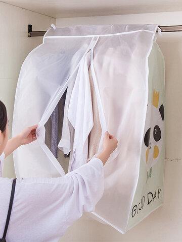 Dirt Resistant PVC Hanging Clothes Storage Bag