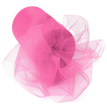 Tulle Fabric Roll Spool Bow Wedding Craft Party Decor