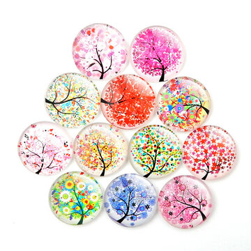 20pcs Tree Pattern Fridge Stickers
