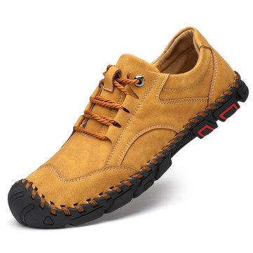 Homens ao ar livre Toe sapatos casuais de proteção