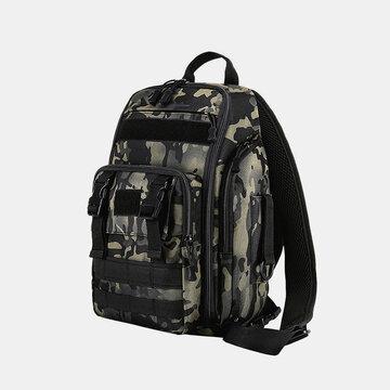 Nylon Camouflage Fishing Climbing Tactical Travel Outdoor Large Capacity Multi-pocket Backpack