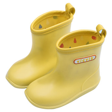 Unisex Kids Candy Colors Rain Botas