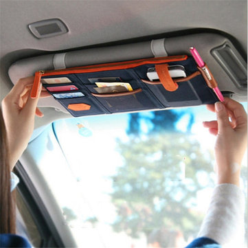 Receive Bag Car Sun Visor Storage Bag