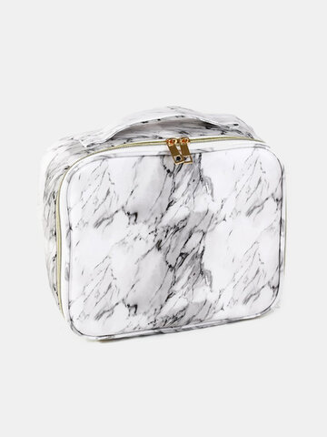 Marble Pattern Cosmetic Bag