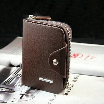 Business Casual Multi-slots Card Holder Trifold Wallet