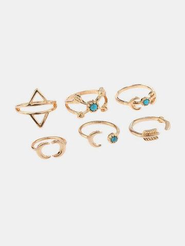 Vintage Set of Fingger Rings