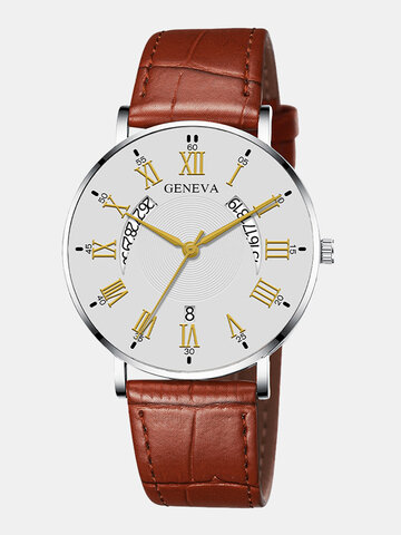 Calendar Men Quartz Watch