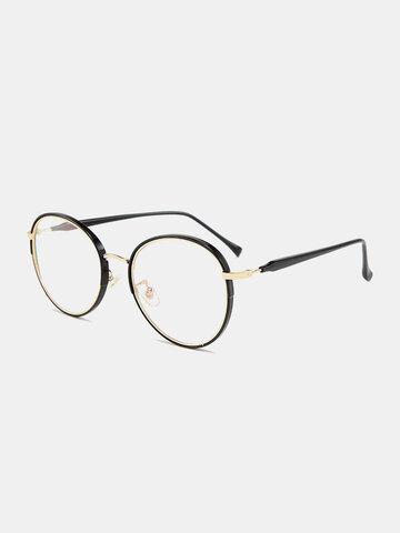 Unisex Round Frame Anti-Blue Glasses
