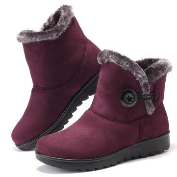 Buckle Comfy Keep Warm Snow Boots