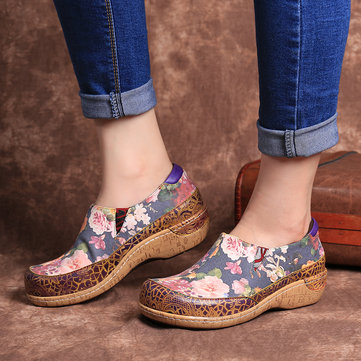 Comfy Stitching Flat Shoes