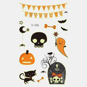 Halloween Luminous Temporary Tattoo