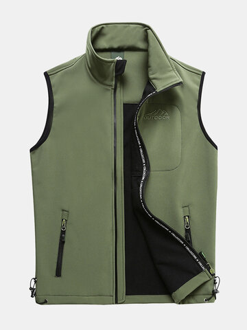 Outdoor Soft Shell Sleeveless Casual Vest