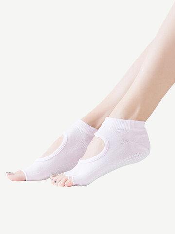 Five Toe Anti-slip Cotton Socks
