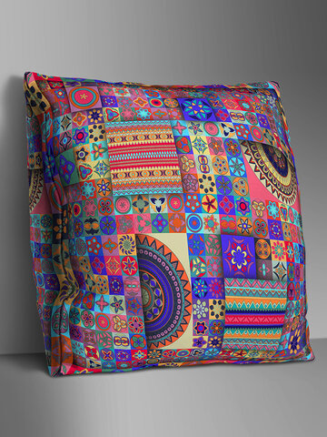 Double-sided Bohemian Style Linen Cushion Cover