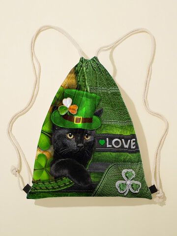 Happy St Patrick Day Pattern Backpack