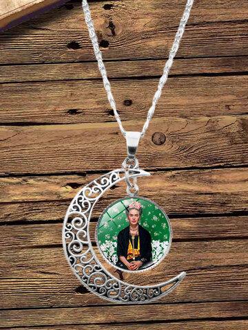3 Pcs Half Moon Jewelry Set