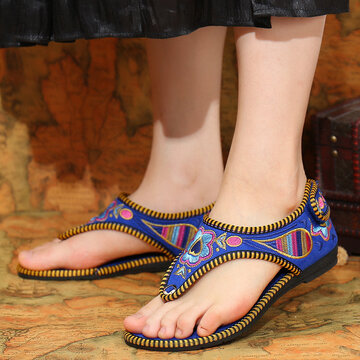 Women Hawaiian Flat Sandals