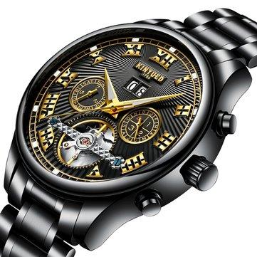 Luxuoso Relógios Mecânica Automática Masculino