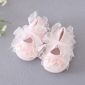 Flower Princess Girls Shoes For 0-24M