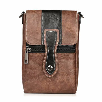 Vintage Multi-functional 6 Inch Phone Bag Waist Bag