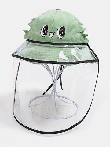 لطيف الكرتون الأطفال الغبار قبعة صياد