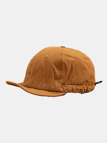 Unisex Soft Short Brim Baseball Caps