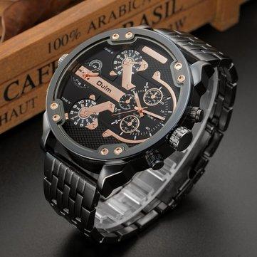 Спортивные мужские часы Механический круглой формы, часы из нержавеющей стали, бренд, 4 цвета для мужчин