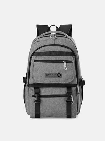 Oxford Large Capacity Laptop Bag Outdoor Travel Backpack