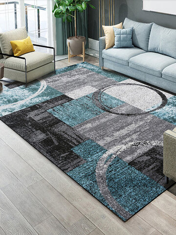 Abstract Extra Small Large Modern Area Rugs Floor Carpet Rug Mat For Living Room