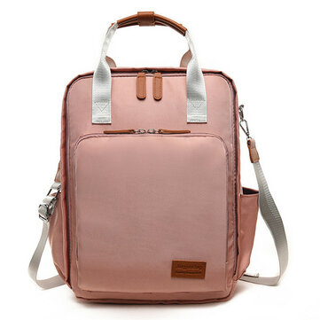 Women Oxford Water Resistant Multi-carry Backpack