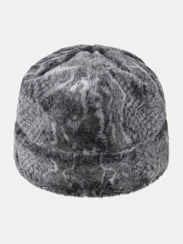 قبعة تزلج بطبعة ثعبان للرجال والنساء