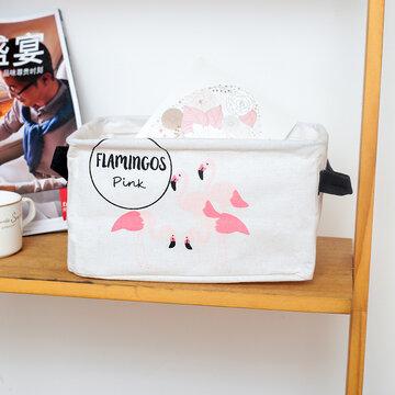 Cotton Flamingo Desktop Organizer