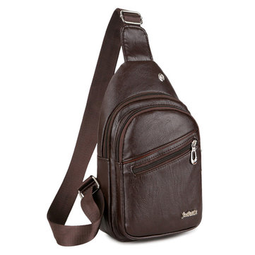Sling bag in cuoio
