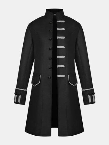 Royal Style Stage Casual Trench Coat