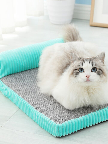 Memory Cotton Pet Bed Cat Cushion Removable  Washable Dog