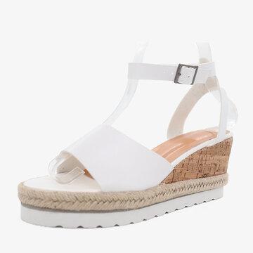 Slip Resistant Platform Wedges Sandals