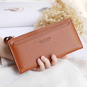Women Stylish  Multi-slots Long Wallet